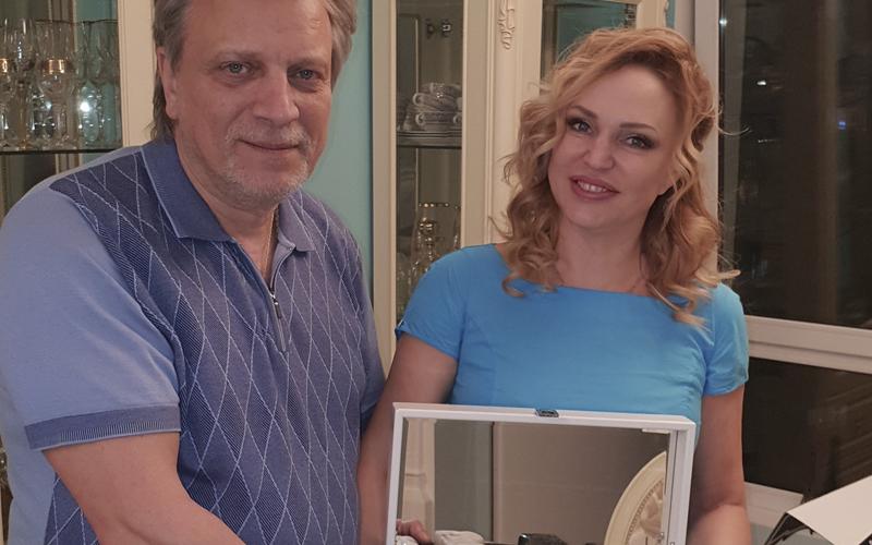 Вдажимир Кузнецов и Алла Довлатова